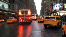( READ DESCRIPTION ) - MULTIPLE FDNY UNITS RESPONDING INTO A FIRE IN PENN STATION IN MANHATTAN.