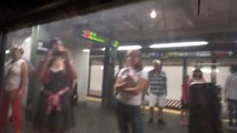MTA NYC Subway: On Board 96th Street-bound IRT Lo-V (2) / (3) train leaving Times Square-42nd Street