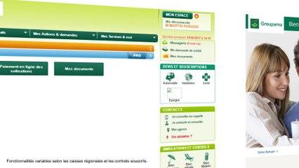 Espace Client Groupama.fr - Consulter un contrat Habitation