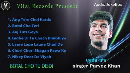 Botal Cho tu Disdi | Parvez Khan | Punjabi Juke Box | Vital Records Latest 2018