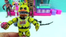 FNAF In Pieces Complete Set Of Five Nights At Freddys Funko + Surprise Blind Bags