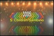 Childish Gambino 3005 Karaoke Version