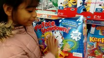 Amazing Little Girl Plays with Ride On Cars at Toys R Us | PORSCHE AUDI CAT QUAD LAMBORGHINI