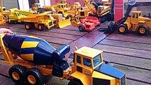 Vídeo de juguetes para Niños. Colección JOAL de maquinas y maquetas de construcción y obras