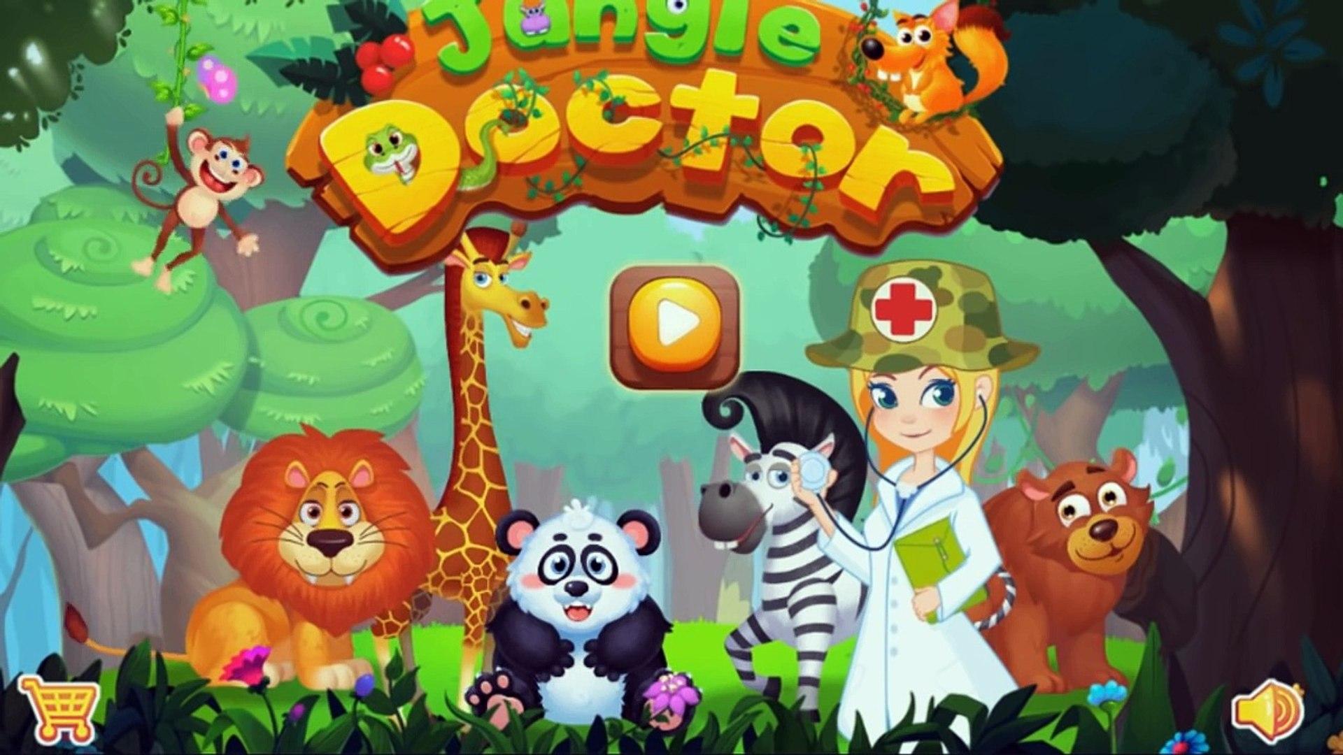 Мультфильм про животных - Маленький ветеринар - Развивающий мультфильм про лечение животных