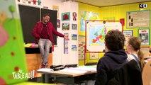 """""""Une cigogne ?!"""" Jamel Debbouze doit reconnaître qui se cache derrière ces rires ! - Au Tableau - C8"""