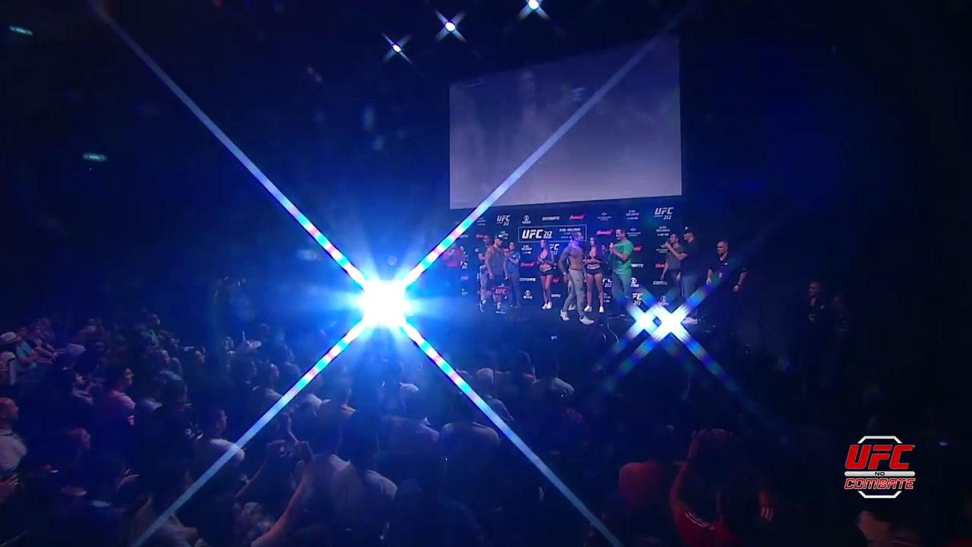 Melhores Momentos da Pesagem do UFC 212