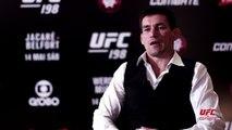 """Demian Maia promete """"fazer barulho"""" por título caso vença no UFC 198"""