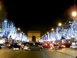 Les Champs Elysées illuminés