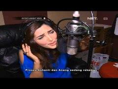 Ashanty rekaman lagu baru