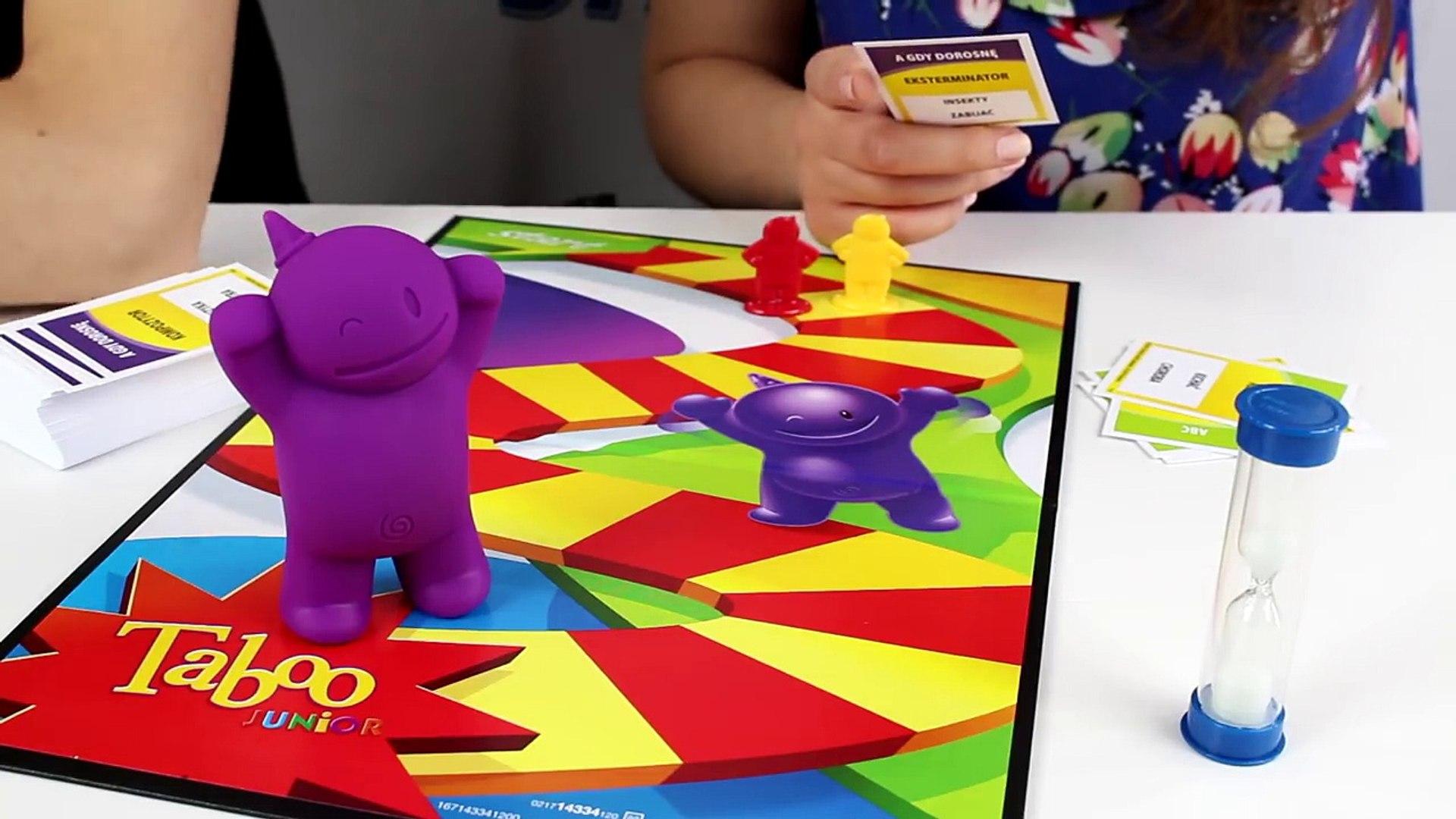 Taboo Junior - Gry planszowe dla dzieci - Hasbro Gaming