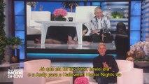 Sarah Paulson @ AHS Roanoke Maze, Universal Studio's Halloween Horror Nights | The Ellen Show