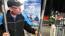 Forum de la pêche à Chalon :  deux cannes exceptionnels  de 13 m