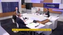 """Corse : """"On a un gouvernement avec qui on ne peut pas discuter"""", affirme le député socialiste François Pupponi"""