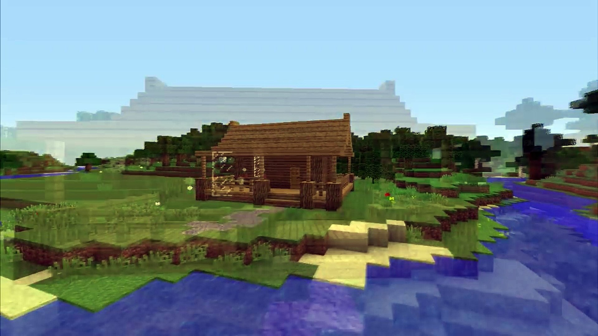 Minecraft How To Build A Small Survival Starter House Tutorial Easy Video Dailymotion