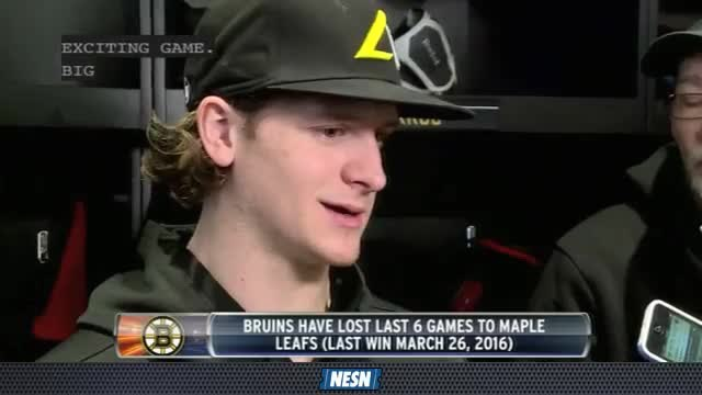 NESN Live: Bruins Look To Create Distance From Maple Leafs In Division Standings