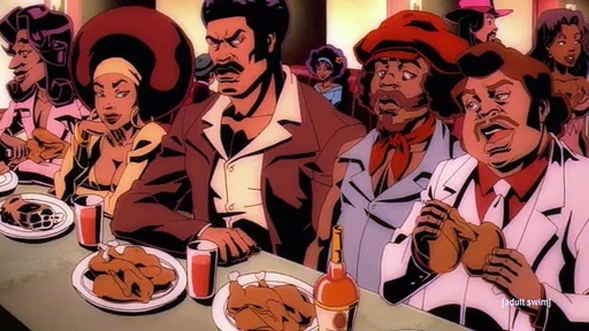 Black Dynamite S02 E01  Roots  The White Album  or  The Blacker the Community the Deeper the Roots