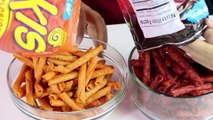 TAKIS CHALLENGE!! EATING FUEGO XTREME SPICY CHIPS 4 Flavors| B2cutecupcakes