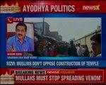 Muslims against Ram Mandir in Ayodhya must go to Pakistan or Bangladesh: Shia Waqf Board chairman Waseem Rizvi