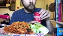 ASMR Eating Spicy Noodles