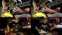 A 13 ans cet enfant joue tous les instruments d'un morceau de Metallica ! Master of Puppets