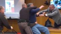 Un père se jette sur l'agresseur de ses filles durant son procès
