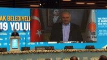"""Telekonferans ile bağlanan Başbakan Binali Yıldırım: """"Gayemiz Hakk'ın ve halkın rızasını kazanmaktır"""""""