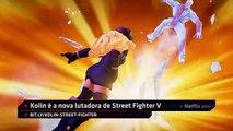 Kolin está chegando a Street Fighter V, Castlevania vai ganhar série na Netflix - IGN Daily Fix