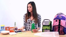 Clean a Backpack & Lunch Bag: Back To School Cleaning Tips 1/3 (Clean My Space)