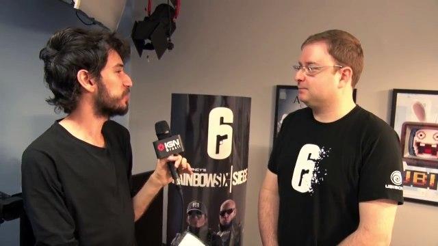 Rainbow Six Siege: entrevista com o game designer Nicholas Souza - IGN Entrevistas