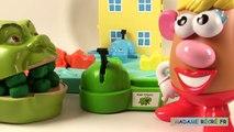 Shrek et le Jeu Hippos Gloutons avec Mme Patate