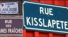 Ce n'est pas une blague, mais cela existe pour de vrai, une liste de 20 noms de rues les plus insolites en France.