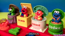 Brinquedo Vila Sesamo POP-UPS | Sesame Street Pop-Up Singing Pals Elmo Cookie Monster