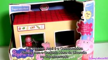 Família Peppa Pig Fazendo Compras no Supermercado Novelinha em Portugues Toysbr Brinquedos Surpresa