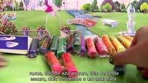 ToysBR Massinhas Clay Buddies das Princesas Disney Livro de Atividades Dough