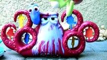 Disney Procurando Dory Ataque Surpresa do Polvo Hank que Muda de Cor Color Changers em Portugues