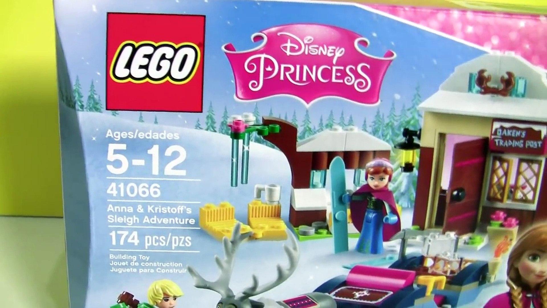 LEGO Aventuras de Trenó da Princesa Anna e Kristoff 41066 Filme Disney Frozen completo em Portugues