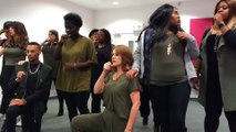 The Gold Vocal Collective Practice Doo Wop By Lauryn Hill For The London Acapella Festival