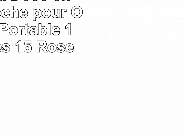 14 Pouces, Rose Zetiy Sac /à bandouli/ère Sacoche Housse Pochette pour Ordinateurs Portables
