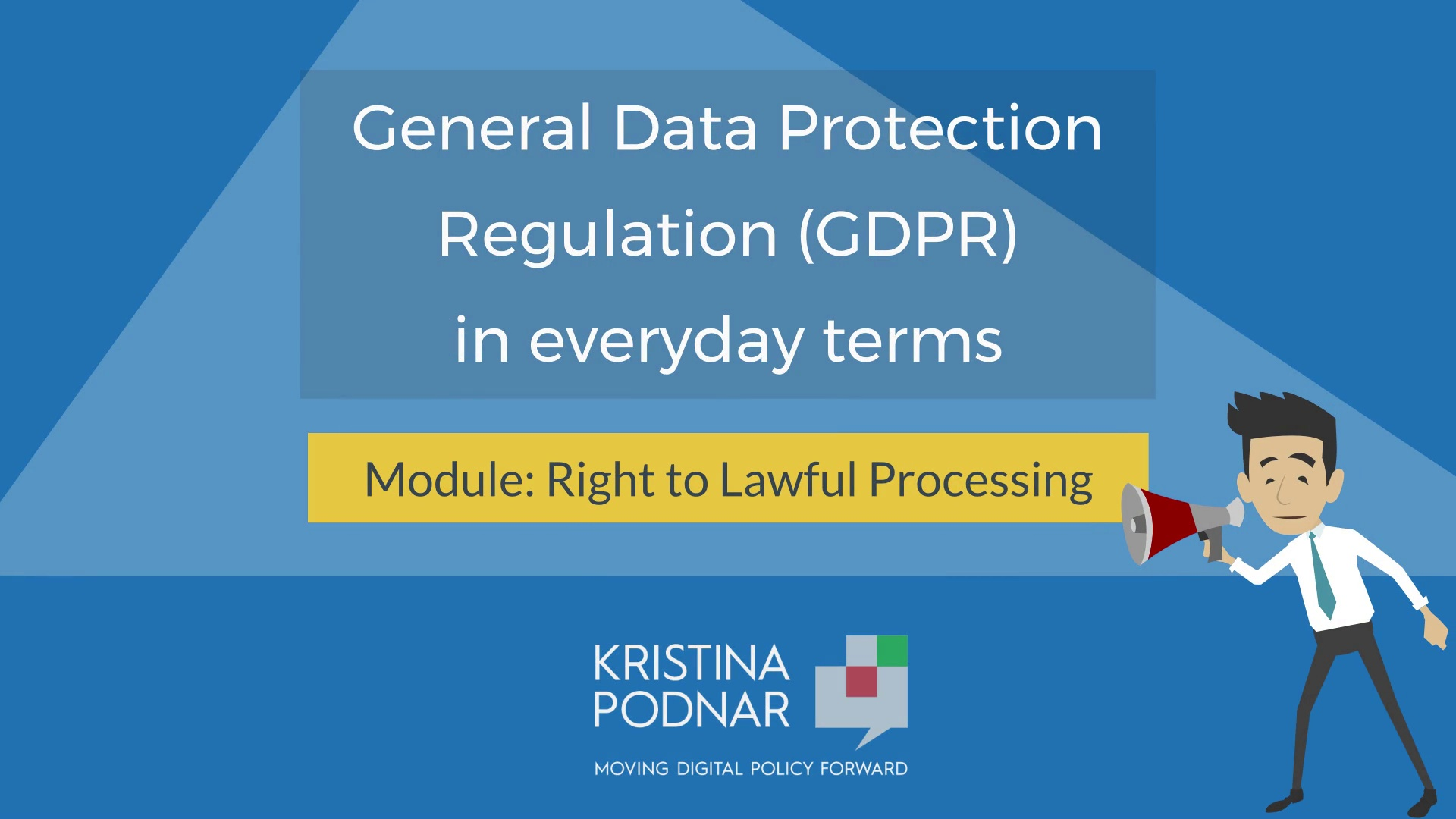 GDPR: Right to Lawful Processing