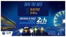 Conférence de presse des 24 Heures du Mans et FIA WEC Super saison 2018-2019
