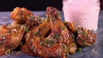 How to Make Baked Chicken Wings with Salsa Verde | The Chew