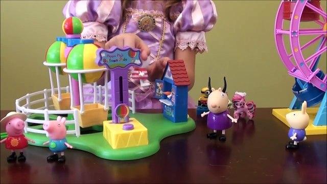 Peppa Pig Funfair: Peppa Pig Story, Peppa Pig Amusement Park, Princess Sofia Royal Family, Dinosaurs