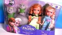 Bonecas Anna Elsa com Trolls Surpresa Sunny Disney Frozen em Portugues BR Play Doh Petite Surprise