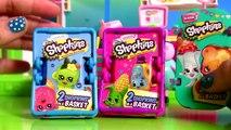 Peppa Pig Fazendo Compras no Supermercado Shopkins Novelinha em Portugues Brinquedos Surpresa BR