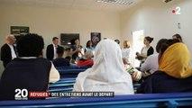 Réfugiés : la France à la rencontre des demandeurs d'asile en Afrique