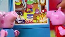 Zakupy na urodziny Tatusia Świnki | Świnka Peppa & Lego | Bajki dla dzieci