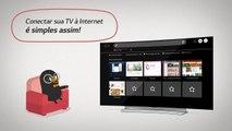 Veja como conectar sua Smart TV com webOS com a internet