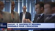 [Zap Télé] Rihanna, Brigitte et Emmanuel Macron au Sénégal (05/02/18)