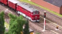 Trains miniatures dans l'ancienne Allemagne de l'Est - Une vidéo de Pilentum Télévision sur le modélisme ferroviaire avec des trains miniatures